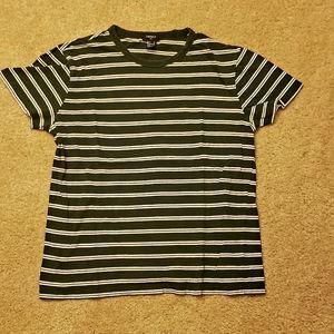 Forever 21 Mens Striped Shirt